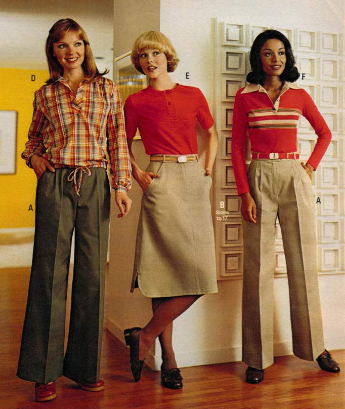 list of synonyms and antonyms of the word 1970 fashion styles